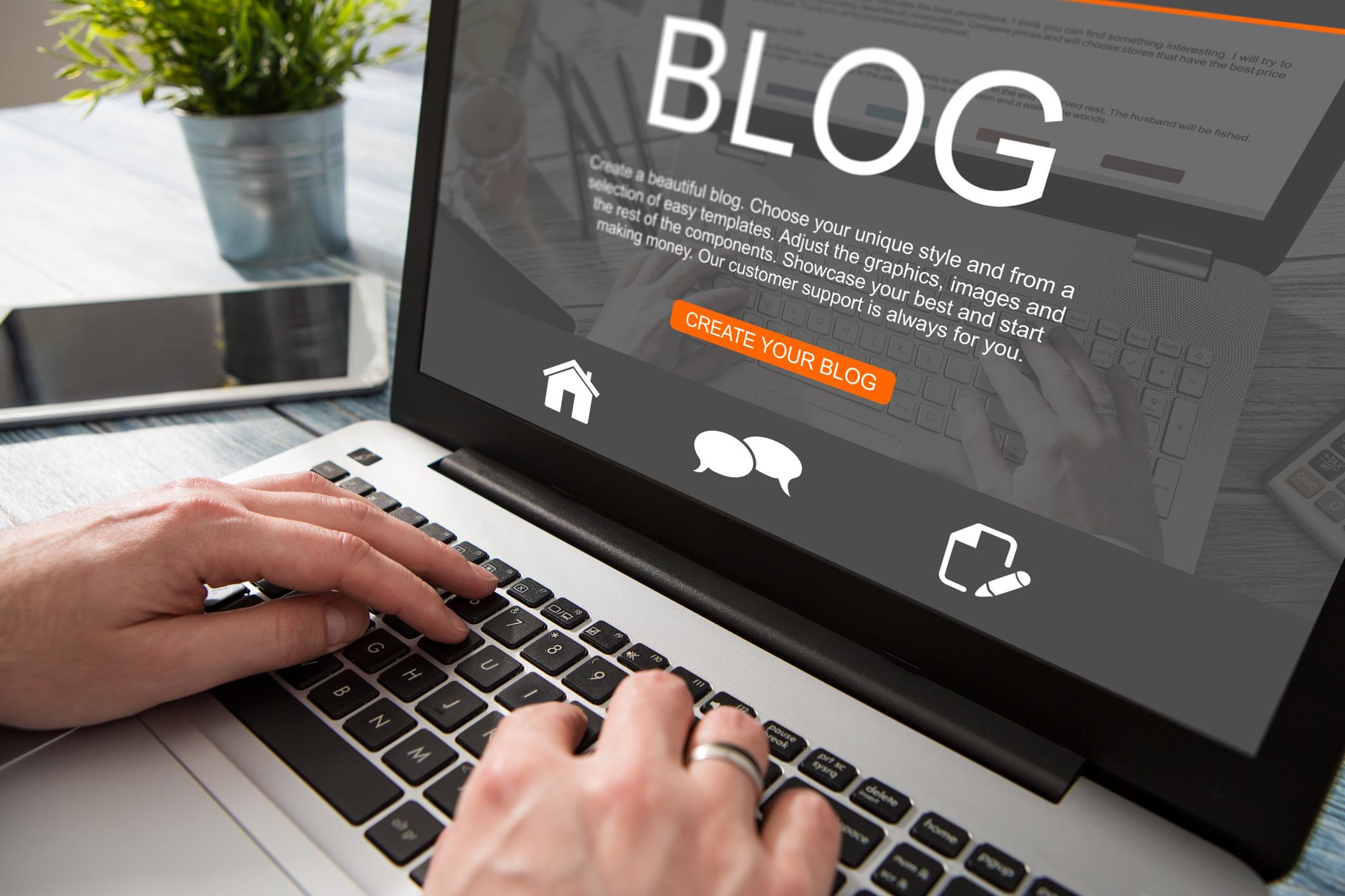 Att börja blogga